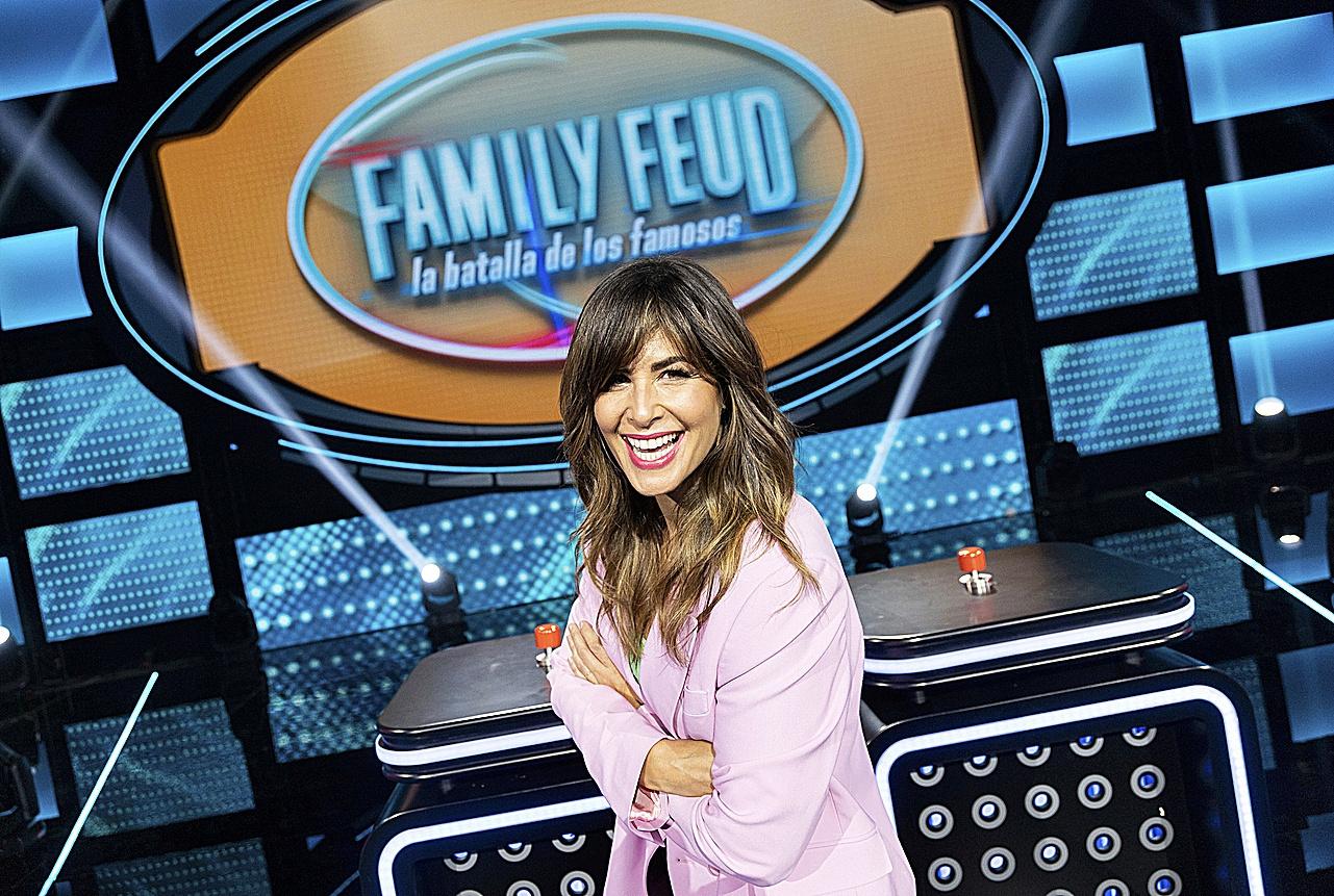 Nuria Roca, presentadora de Family Feud en Antena 3