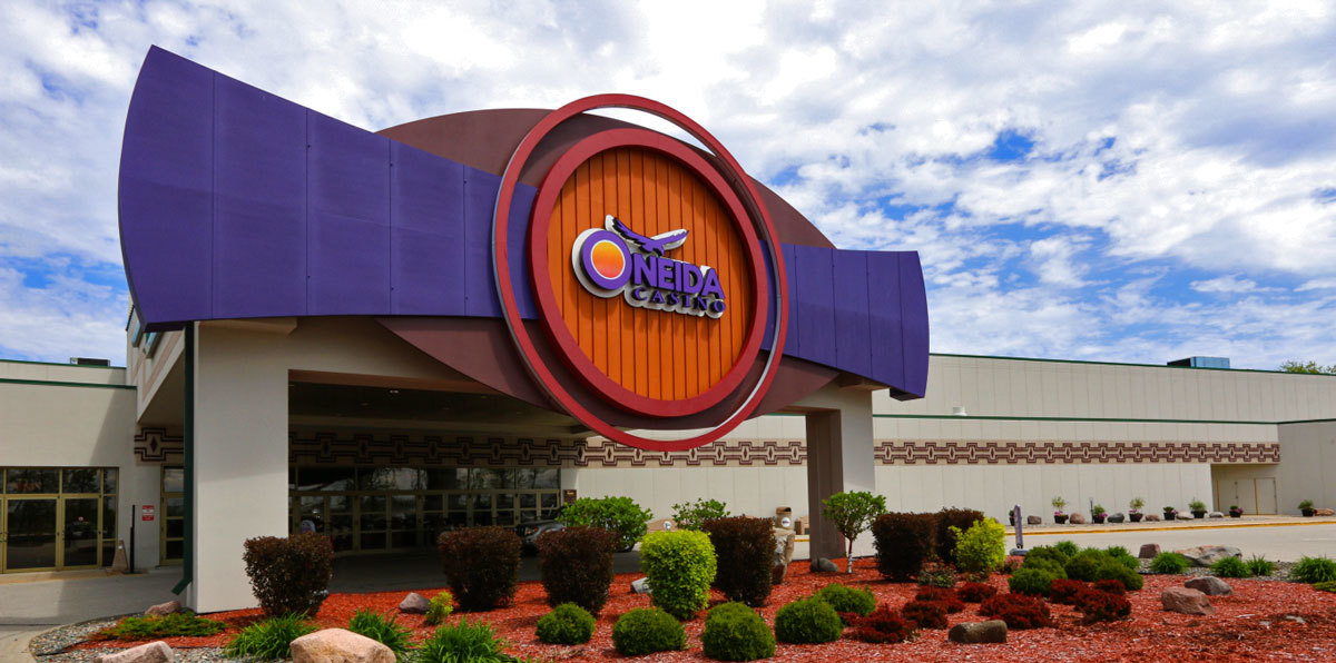 El casino Oneida en Green Bay, donde tuvo lugar el tiroteo.