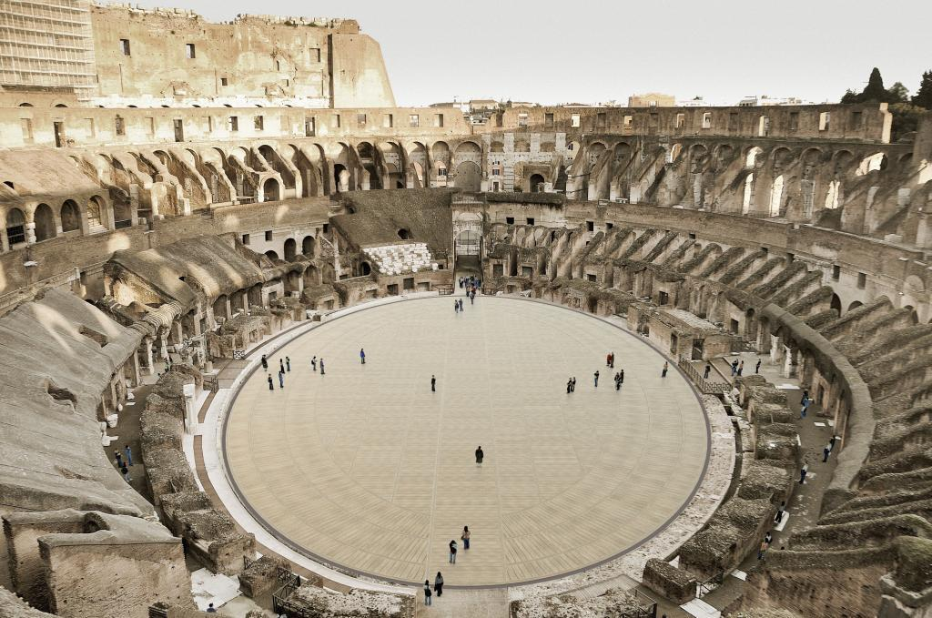 Una recreación del proyecto aprobado por el Gobierno de Italia.