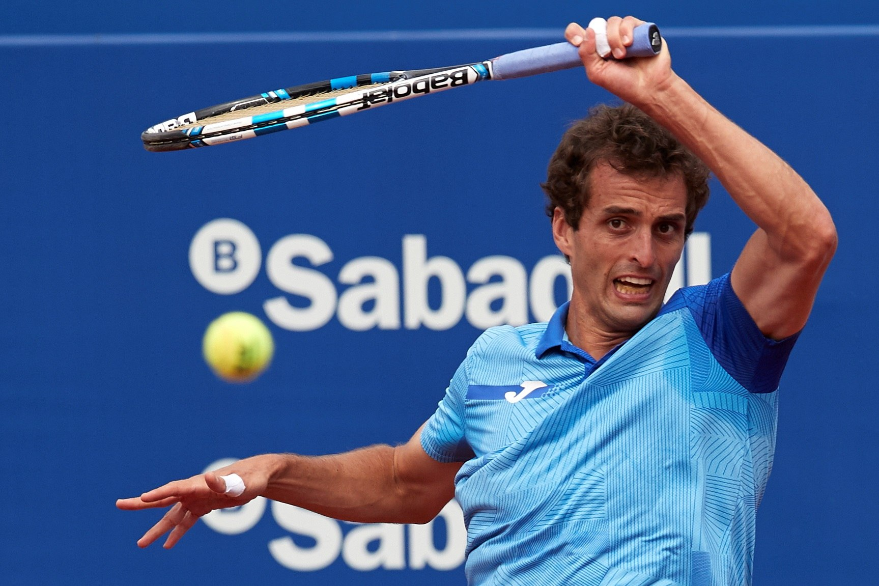 Albert Ramos en la final del ATP de Estoril