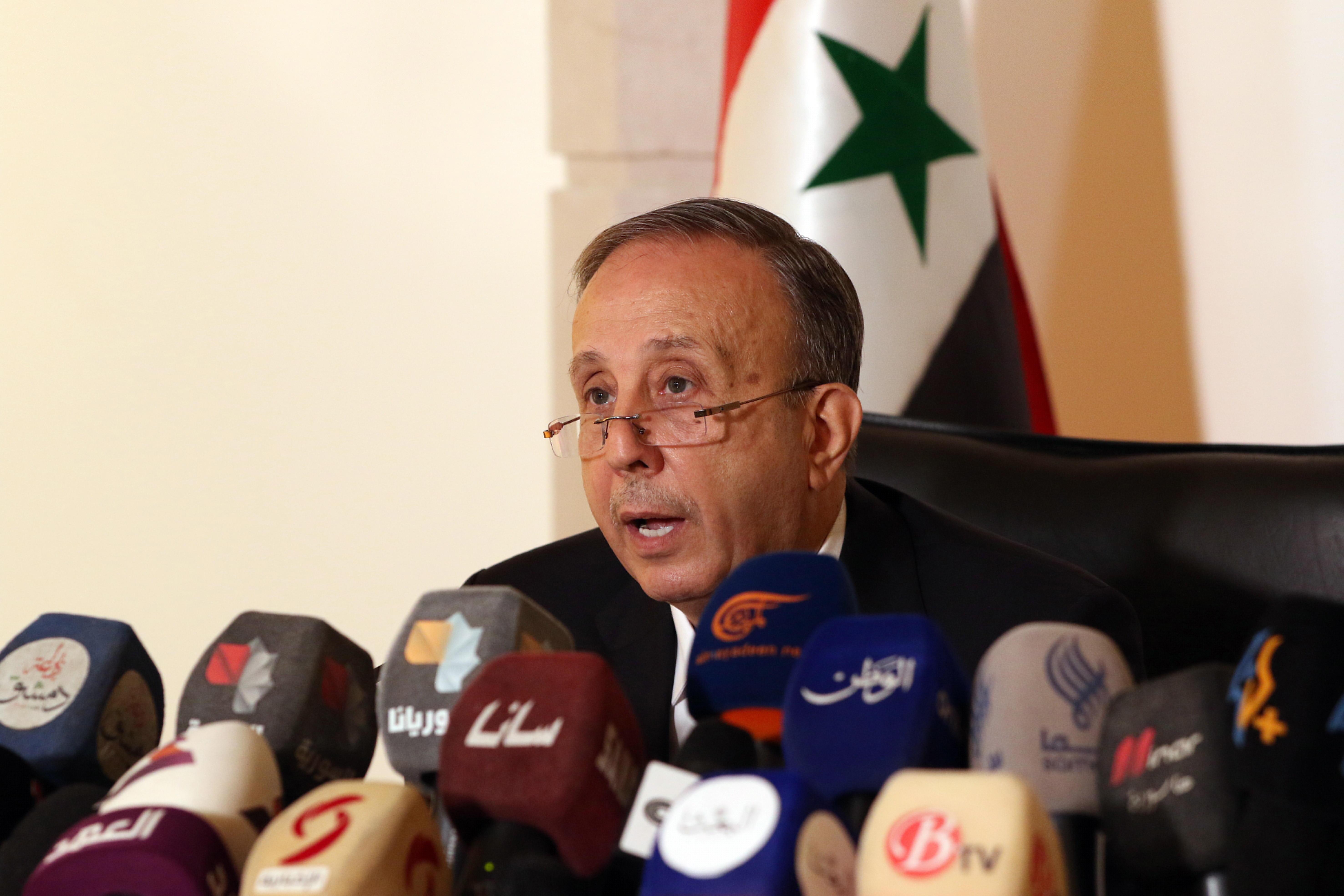 El presidente del Tribunal Constitucional Supremo, Jihad al Laham.