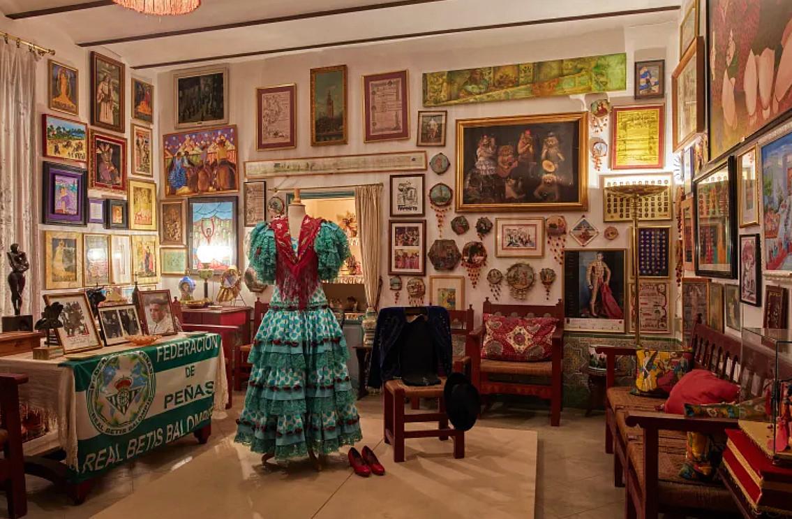 Interior del Palacio de las Dueñas (Sevilla).