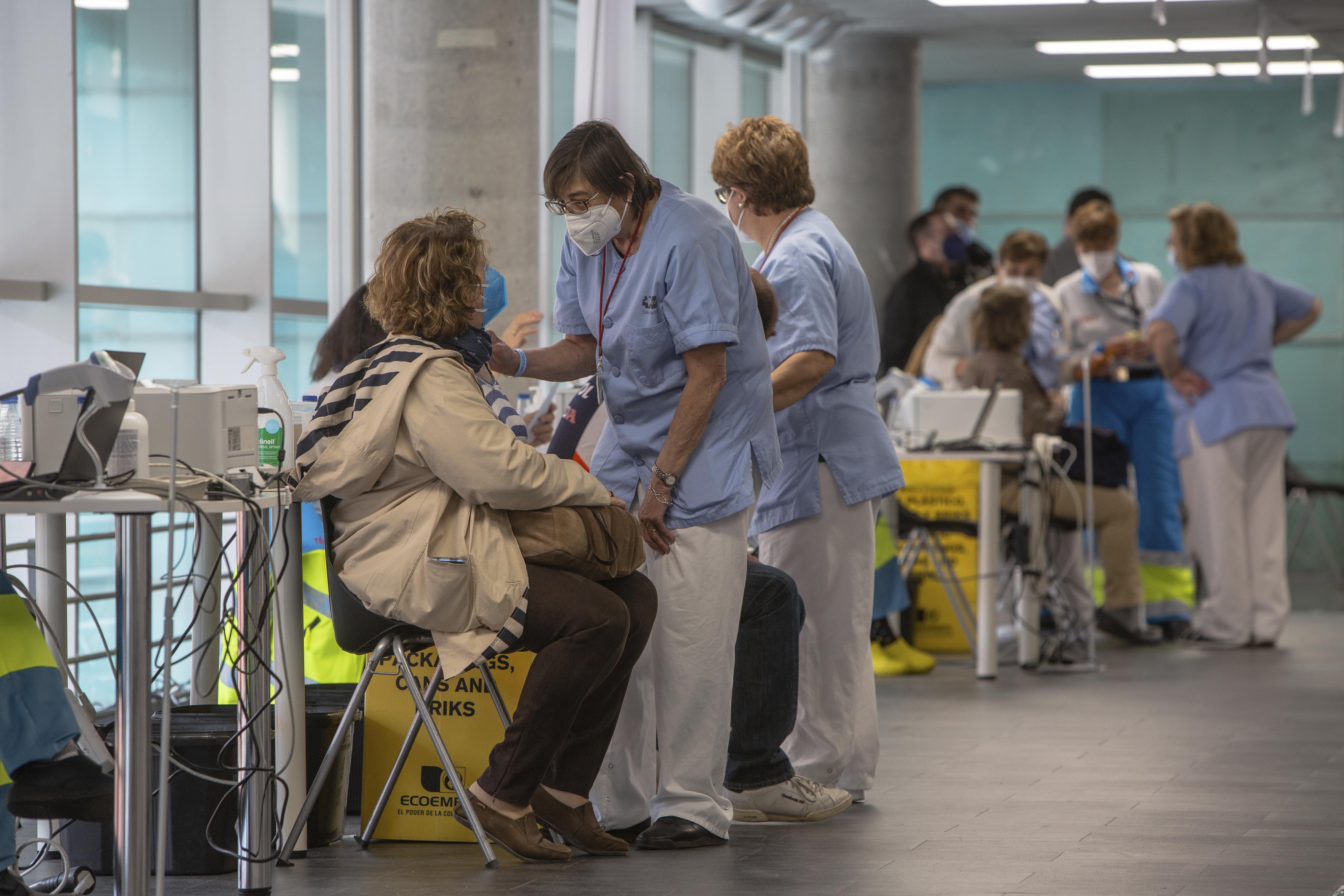 Vacunación contra el coronavirus en la Comunidad de Madrid.