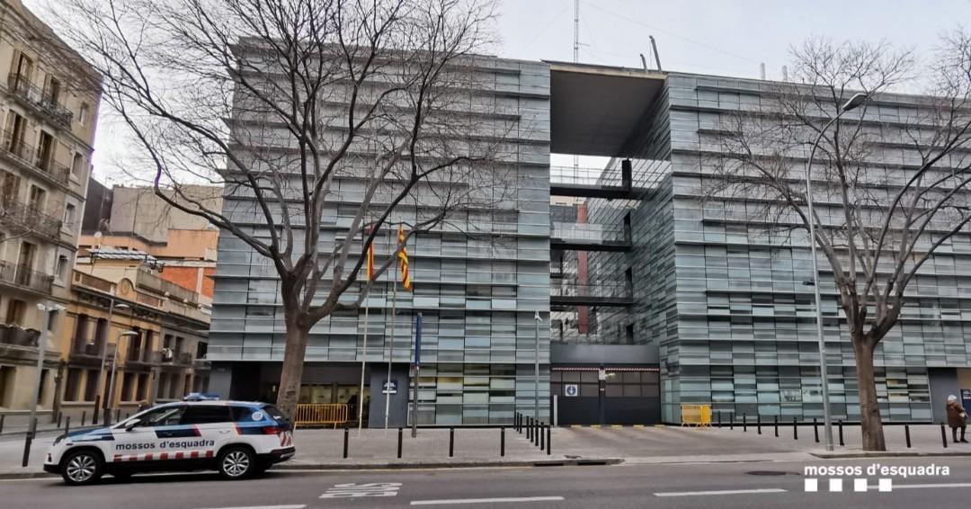 Comisaría de Mossos en Barcelona