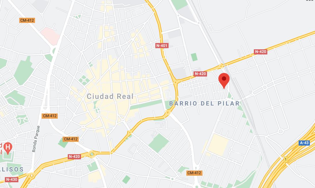 El suceso ha tenido lugar en la calle Virgen de la Carrasca de Ciudad Real.