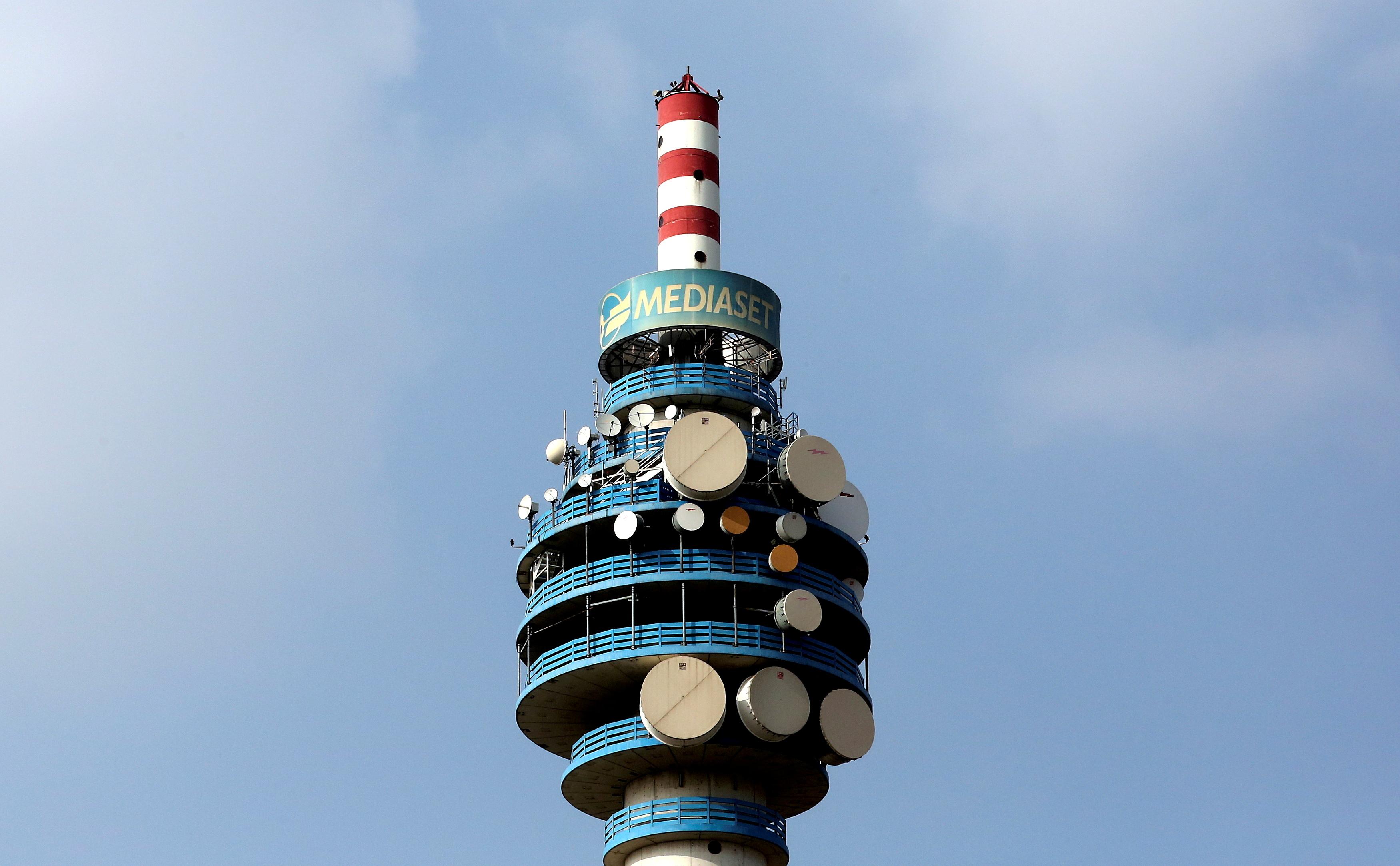 Torre de Mediaset en Cologno Monzese, en MIlán.