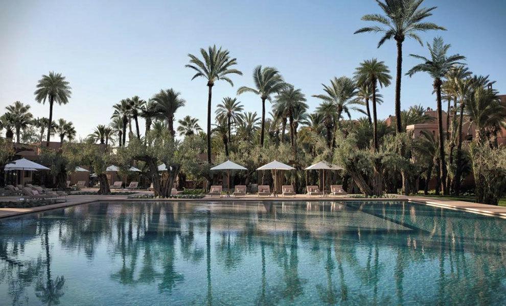 El refugio perfecto del Royal Mansour de Marrakech.