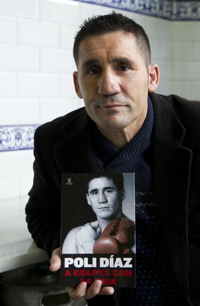 El boxeador retirado Poli Díaz