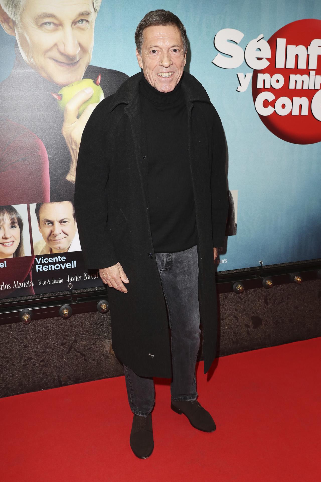 El actor Ramón Langa, en una imagen de 2019.