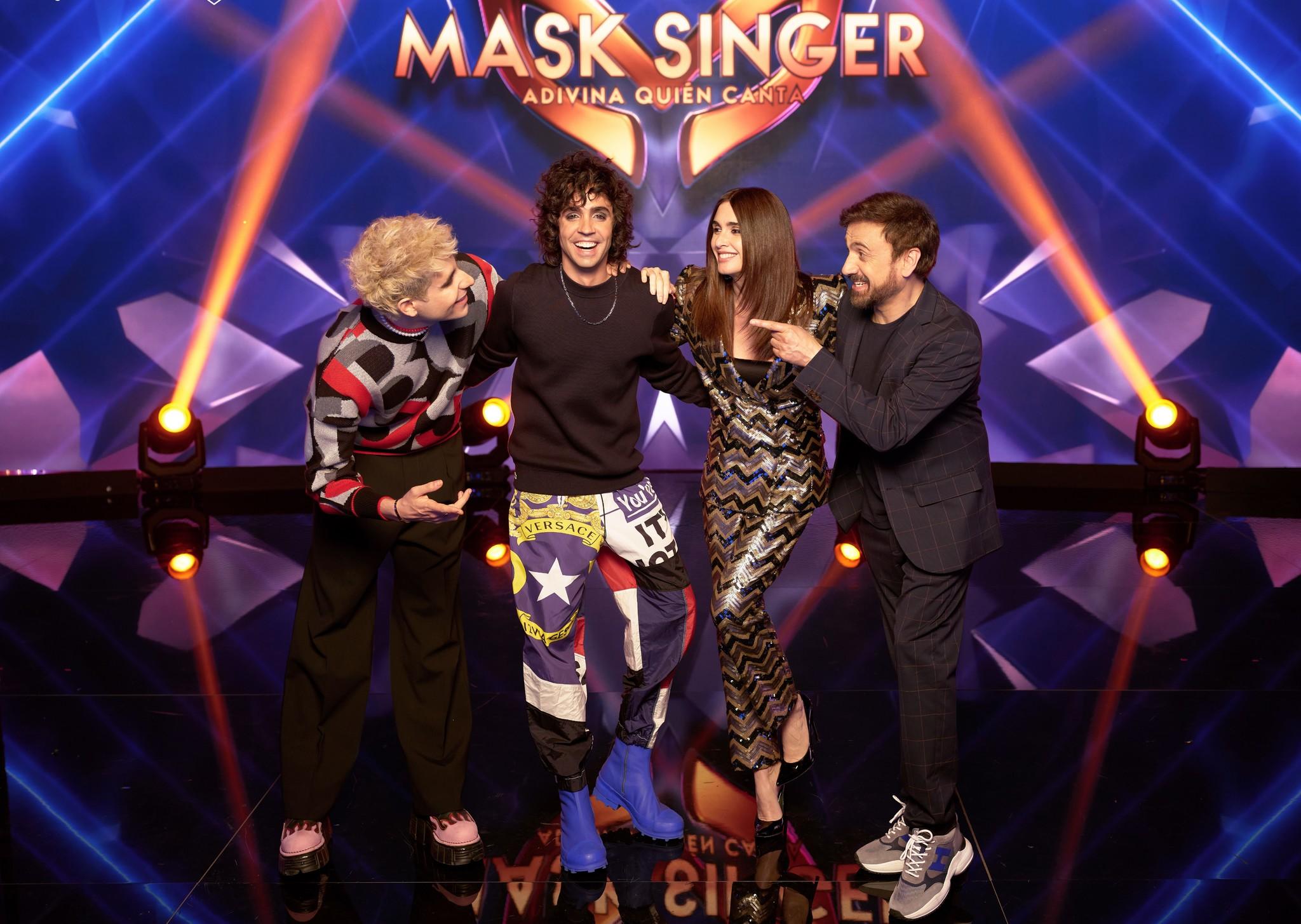 Los cuatro investigadores de Mask Singer: 'Los Javis', Paz Vega y José Mota