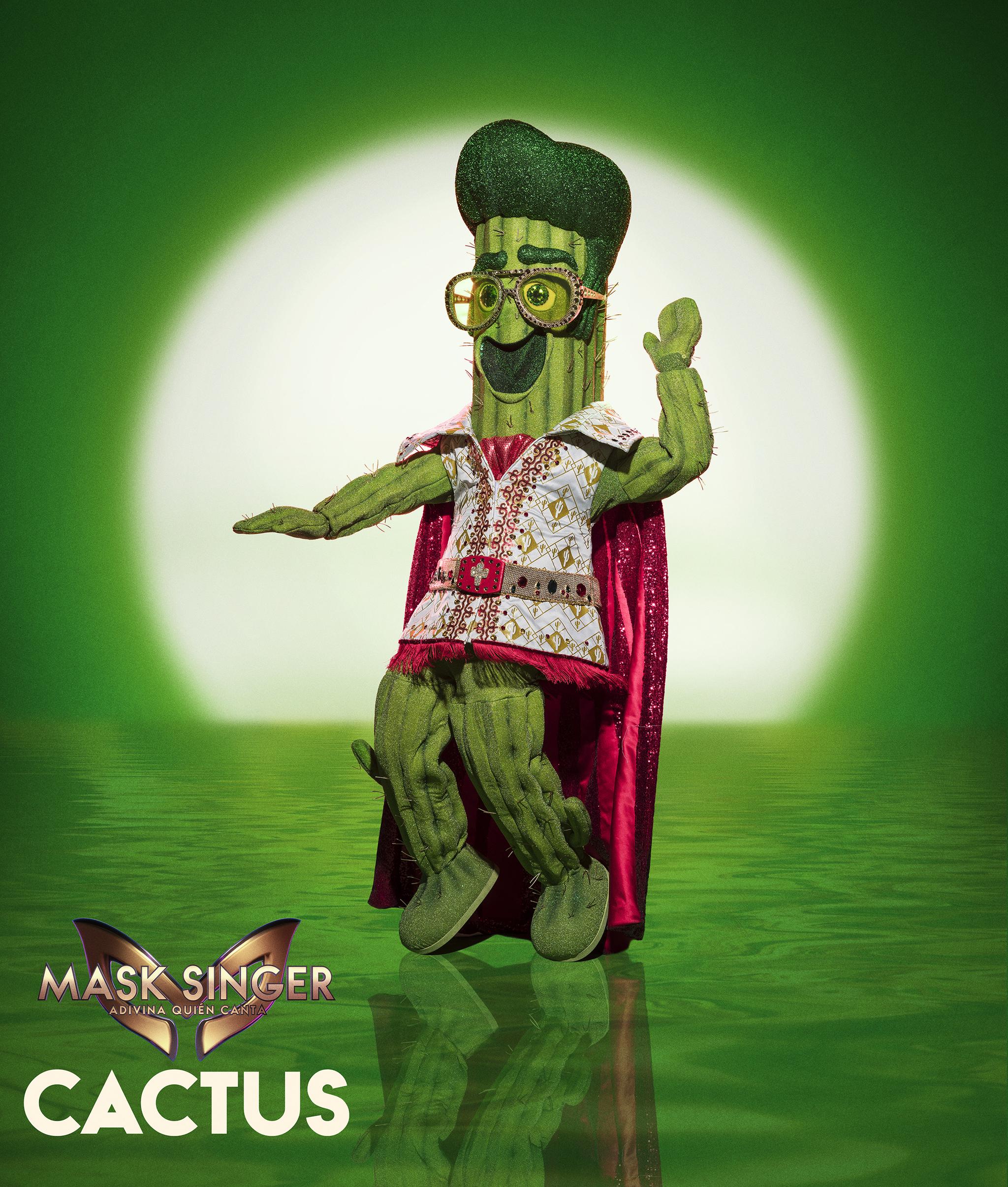 La máscara de Cactus