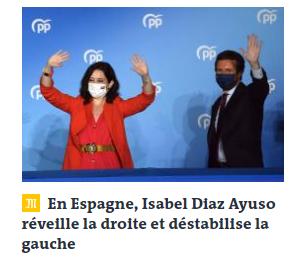 Información en Le Monde