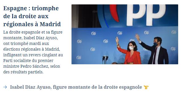 Información en Le Figaro