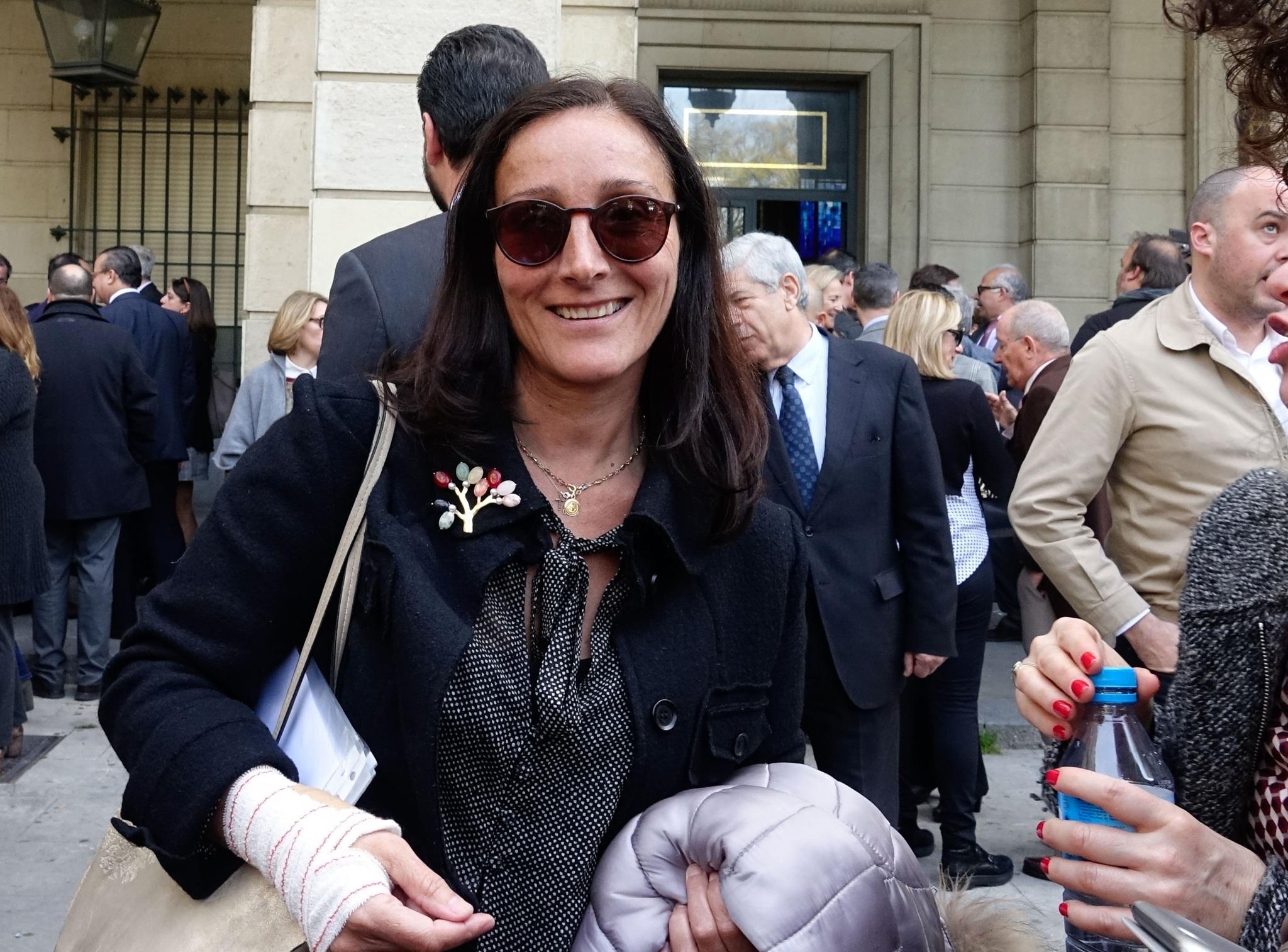 La juez María Núñez Bolaños, antes de la pandemia.