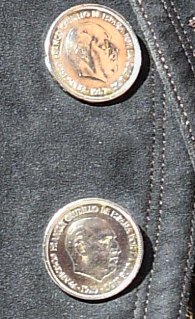 Detalle de una de las monedas