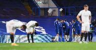 Los jugadores del Chelsea celebran un gol.