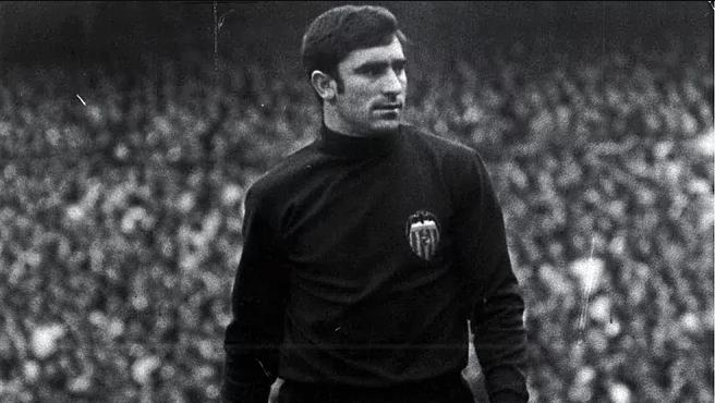 Ablelardo, histórico portero del Valencia, en una imagen de archivo