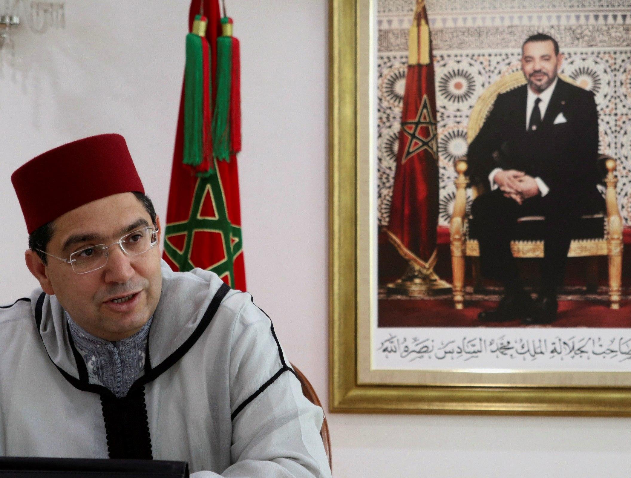 El ministro marroquí de Exteriores, Naser Burita.