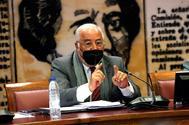 Pere Navarro, director general de Trafico el pasado martes día 5 en la Comisión de Interior del Seando.