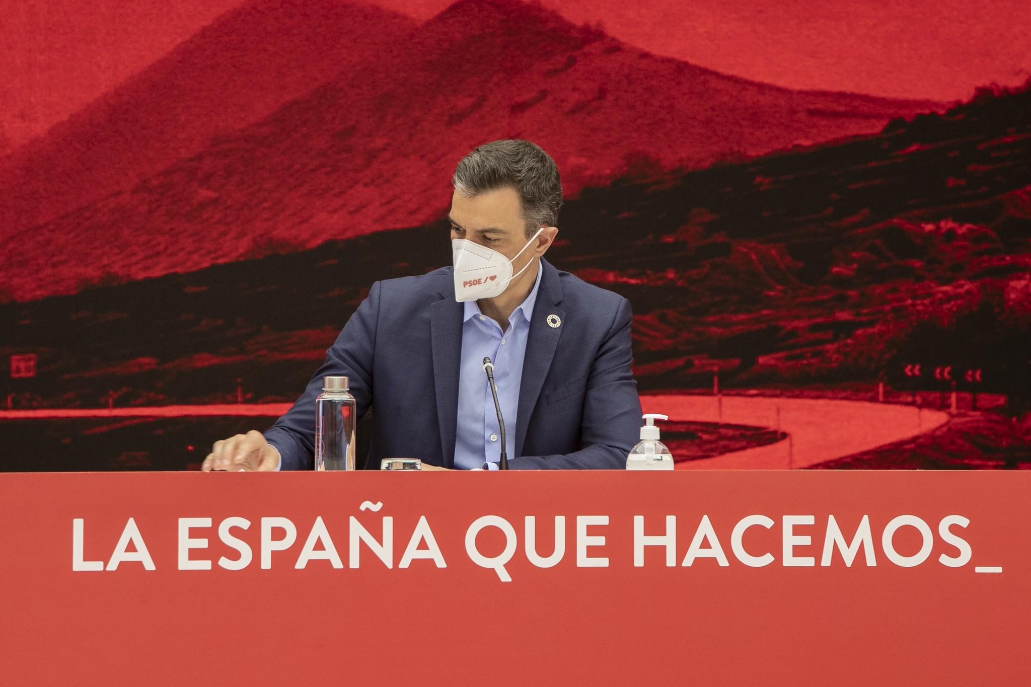 Pedro Sánchez, este jueves.