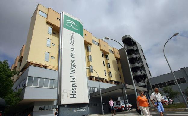Hospital clínico Virgen de la Victoria de Málaga.
