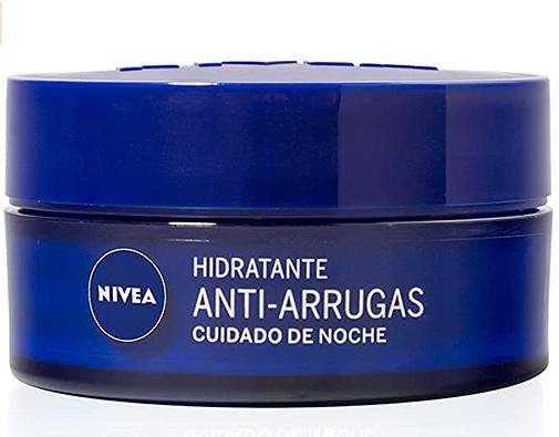 Hidratante antiarrugas cuidado de noche, de Nivea.