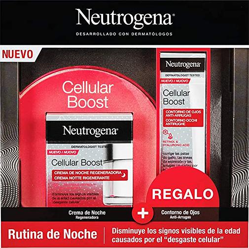 Cellular Boost Antiedad, de Neutrogena.