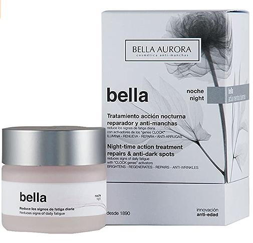 Crema de noche anti-arrugas, de Bella Aurora.