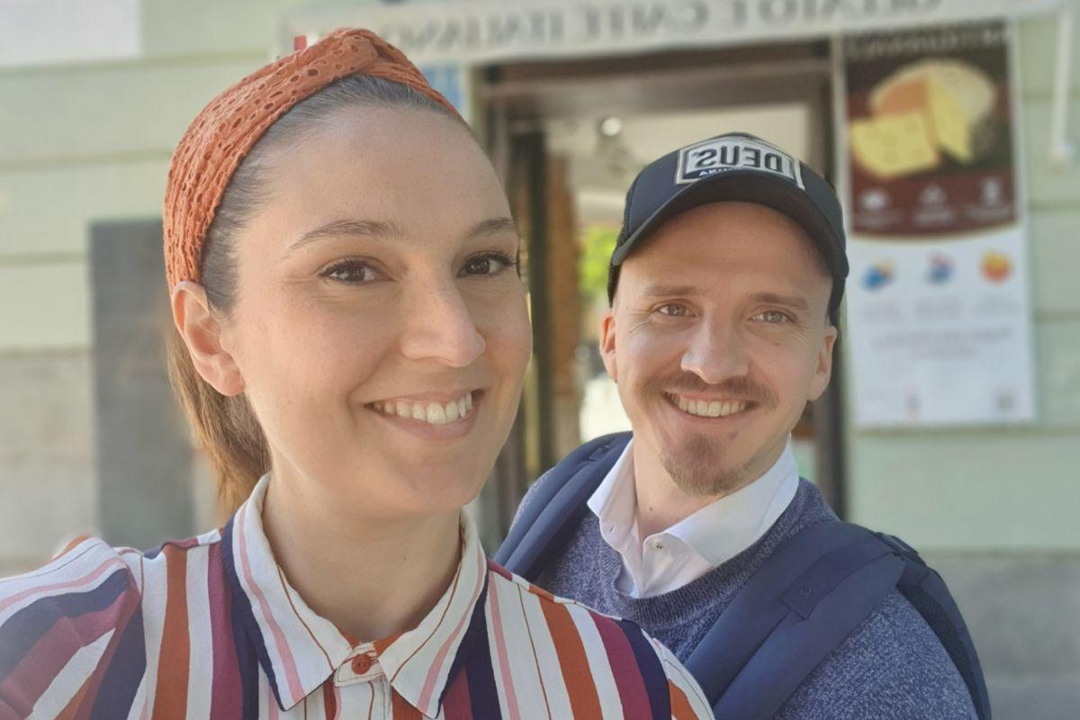Rossana y Juan, propietarios de  Zúccaru.
