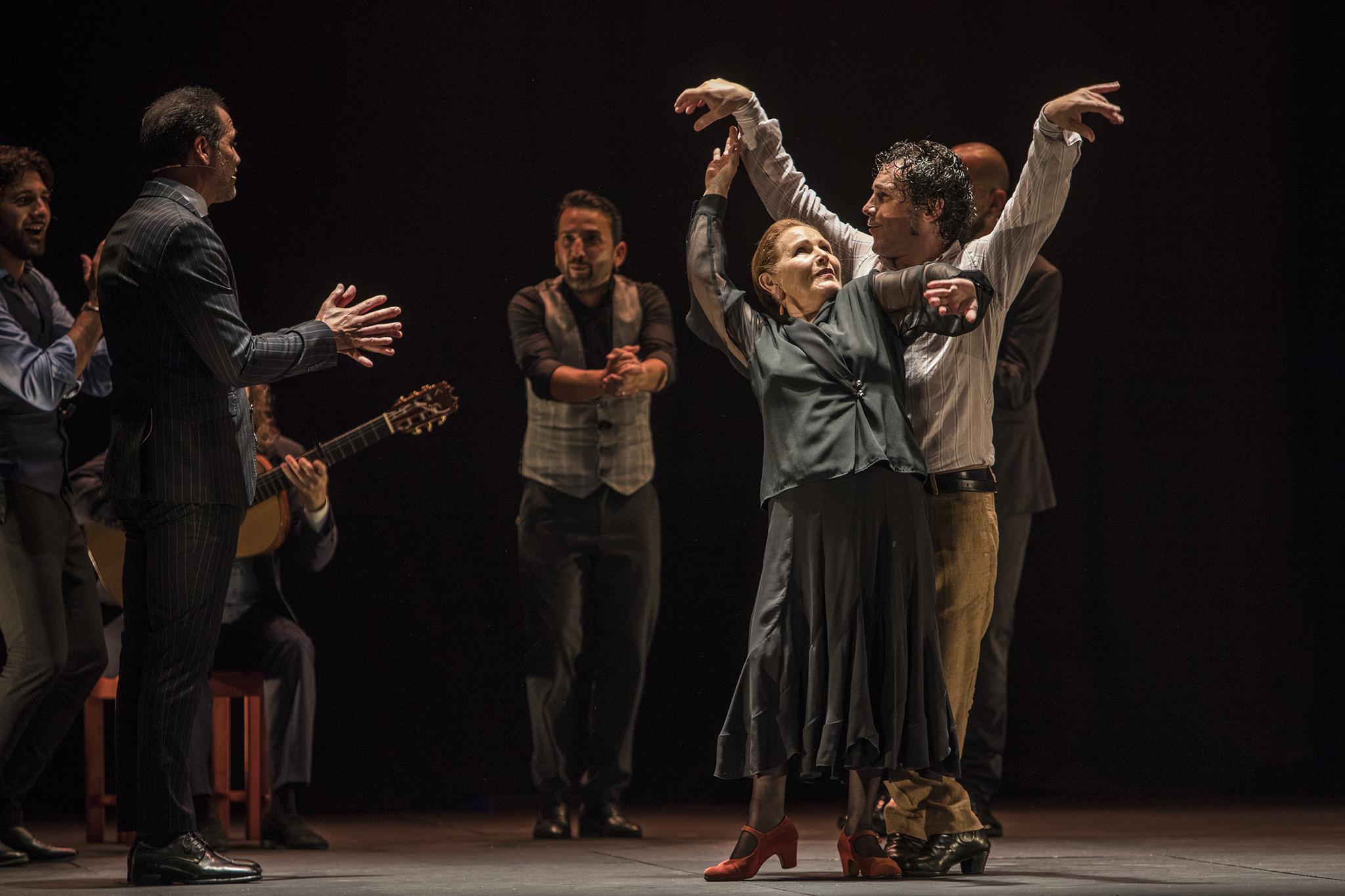 Angelita Gómez aportó el momento mágico en el montaje de Andrés Peña.