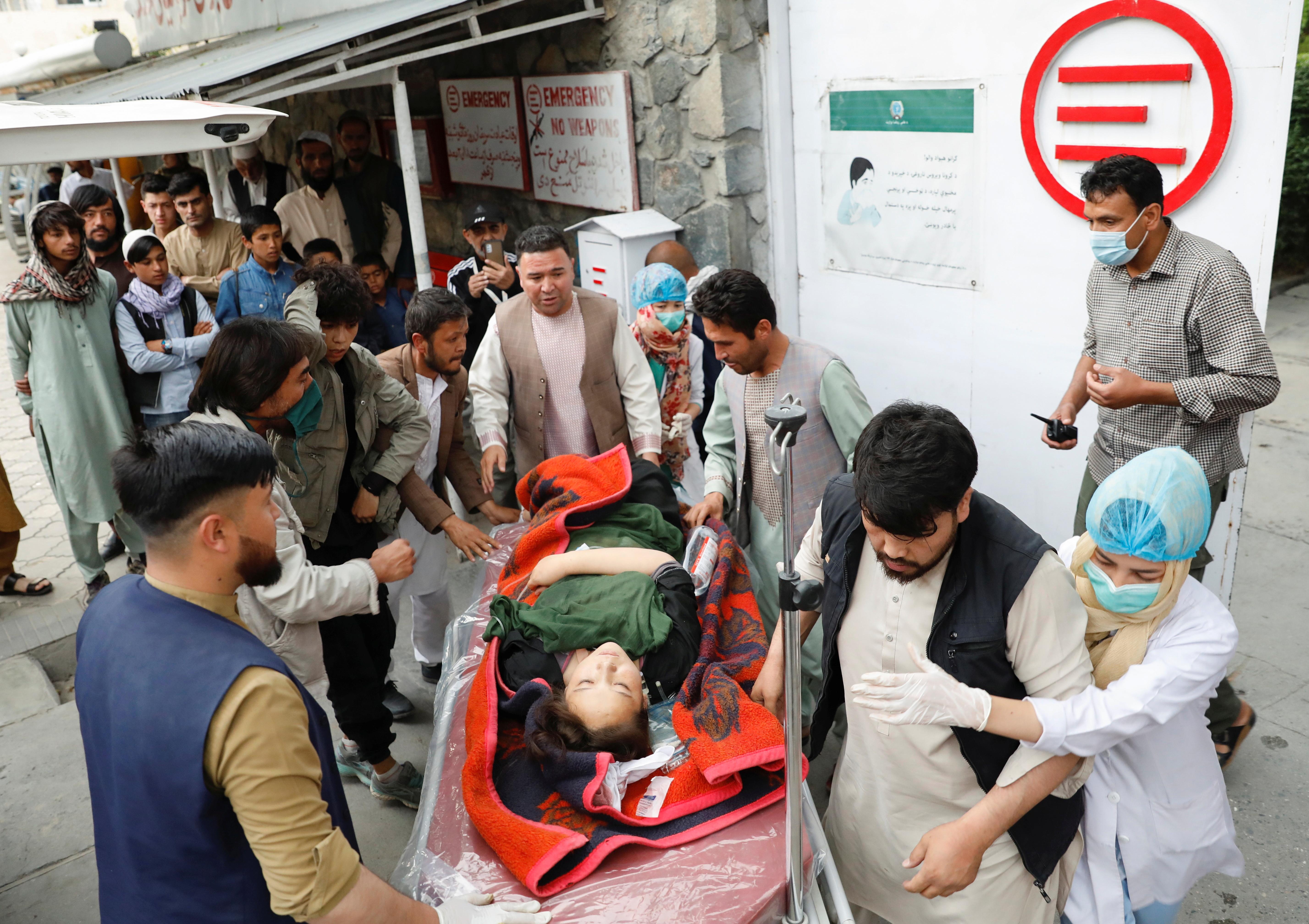 در این حمله امروز در کابل یک زن زخمی شد.