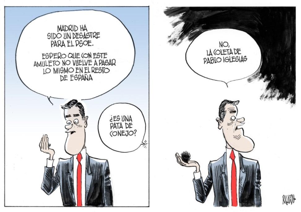 Y Sánchez se queda sin sus elecciones anticipadas