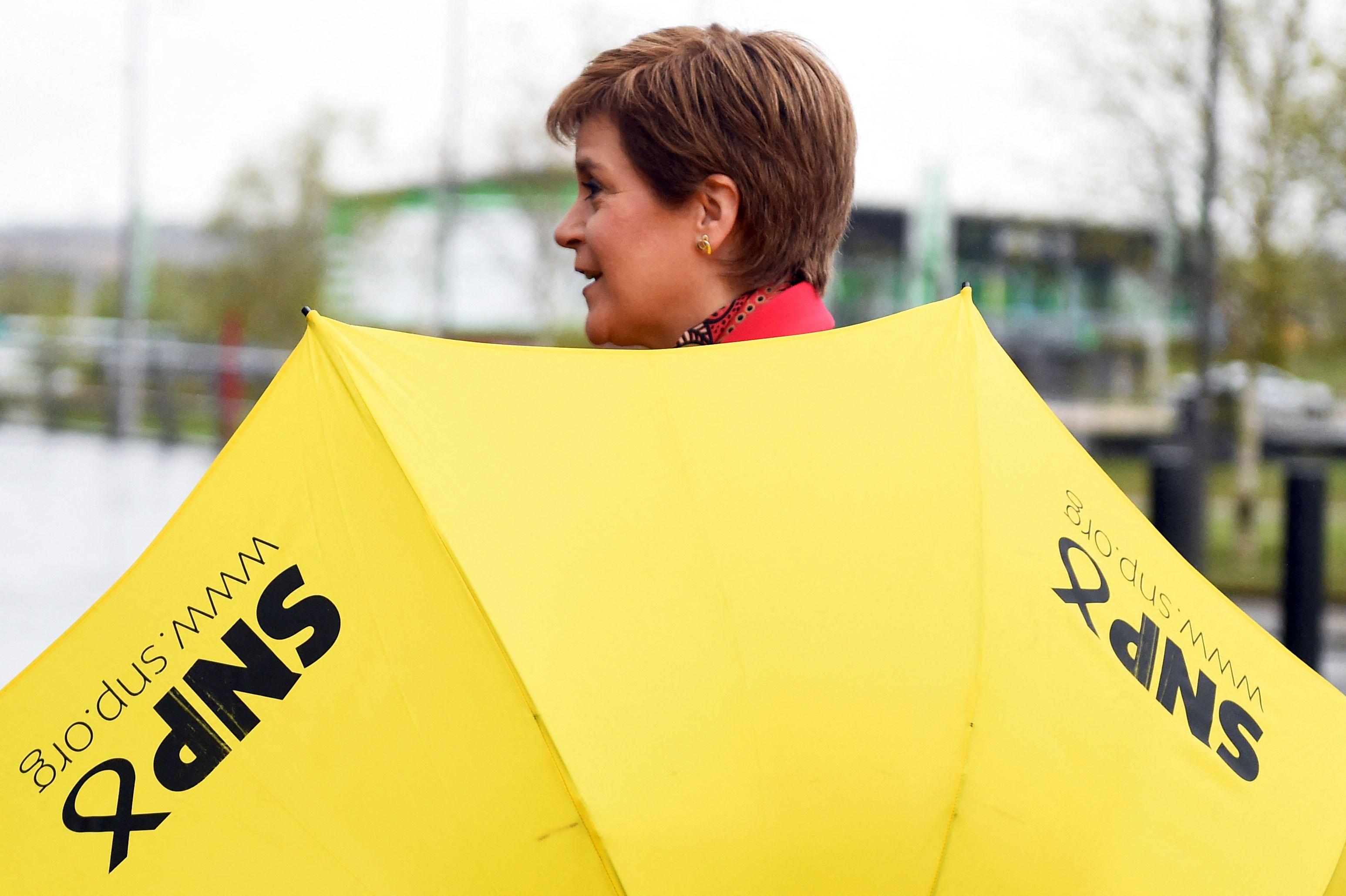La líder del SNP, Nicola Sturgeon.