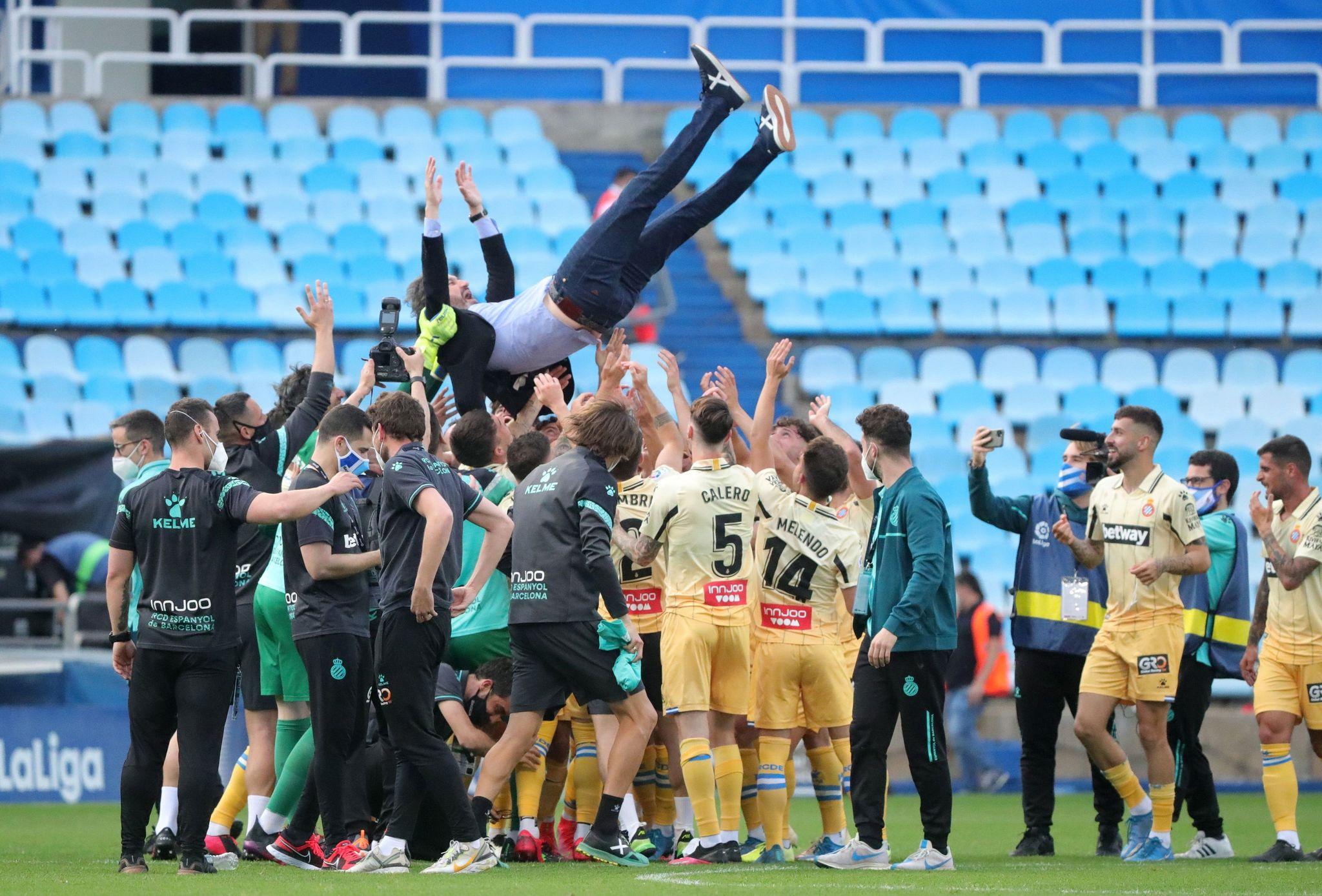 El Espanyol regresa a la Liga Santander por la puerta grande un año después de su descenso.