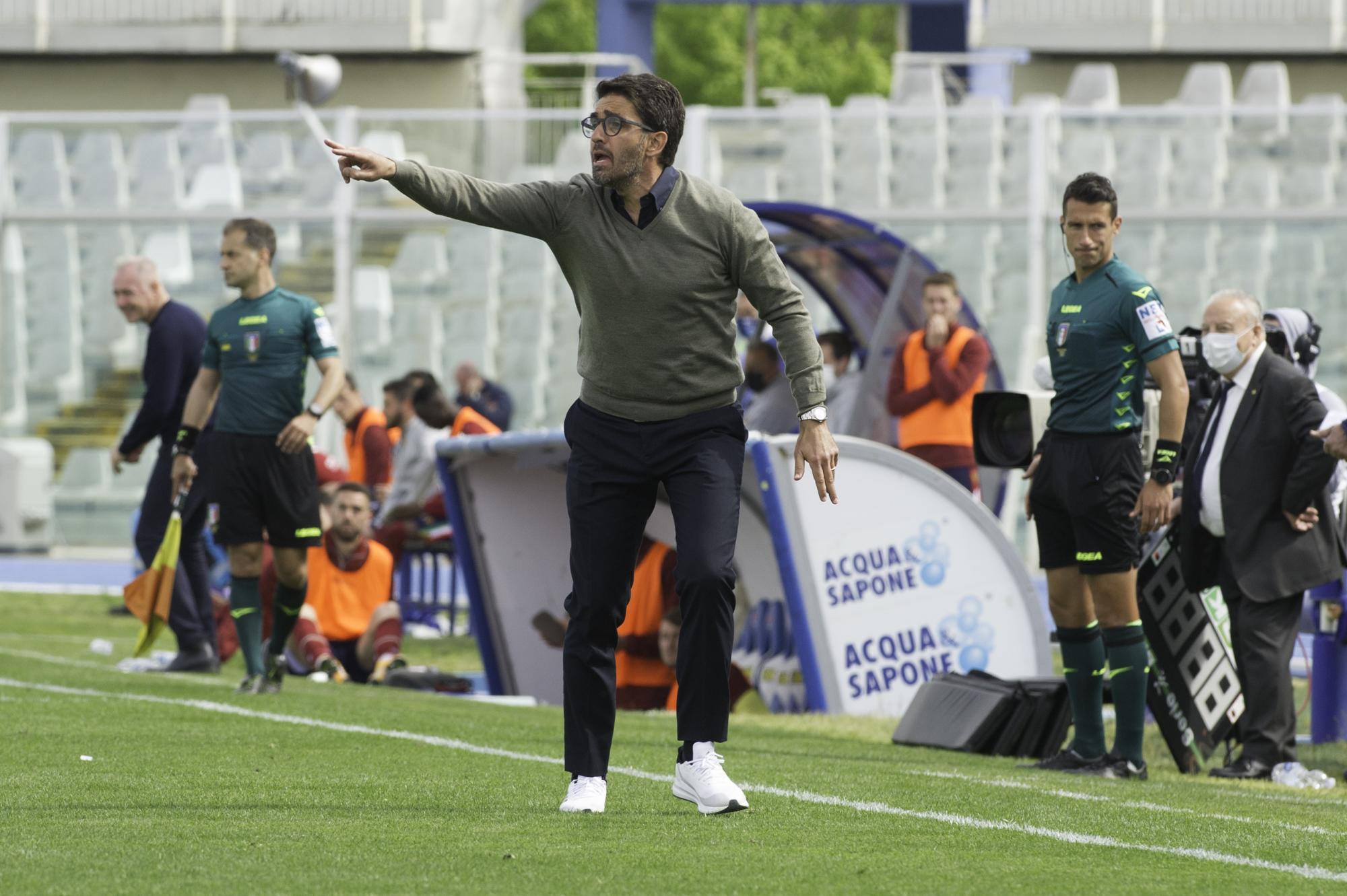 El entrenador del Pescara, Gianluca Grassadonia.