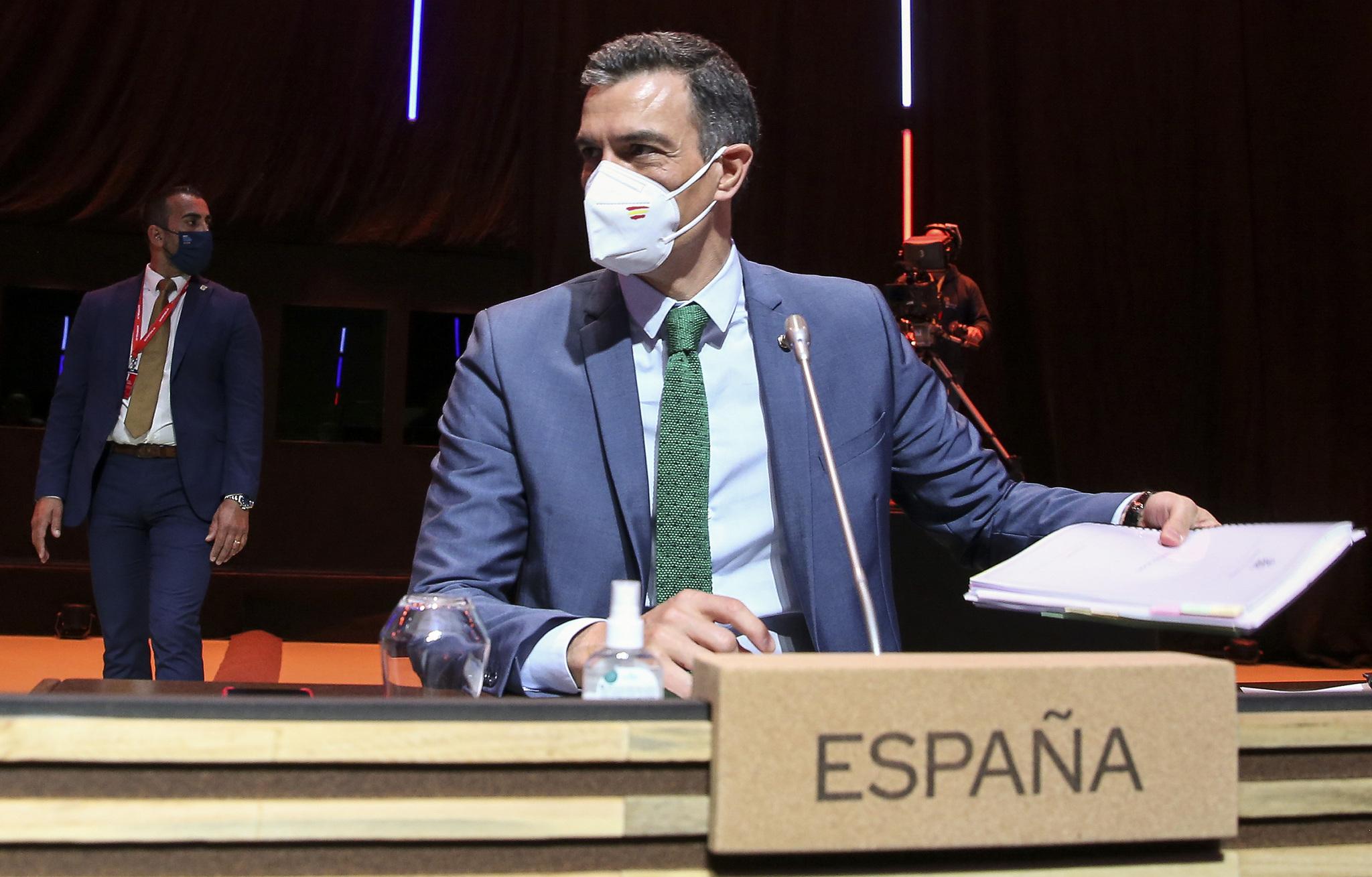 Pedro Sánchez, en Oporto.