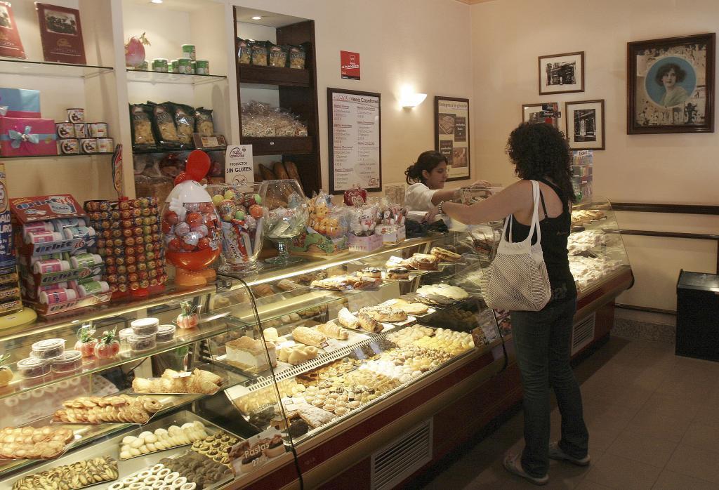 Interior de la tienda Viena Capellanes