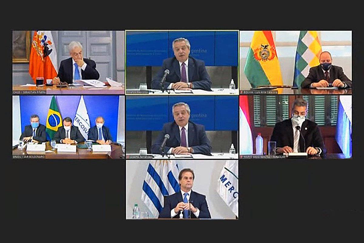 La reunión en la que Mercosur debía conmemorar el trigésimo aniversario del fundacional tratado de Asunción.