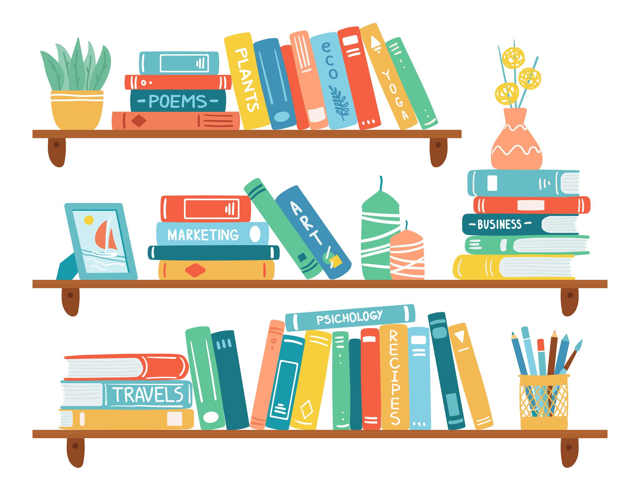 Las mejores estanterías para ordenar tus libros.