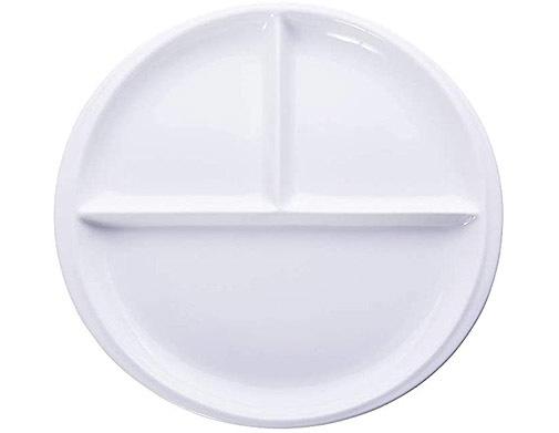 Plato de porcelana, de Onepine.