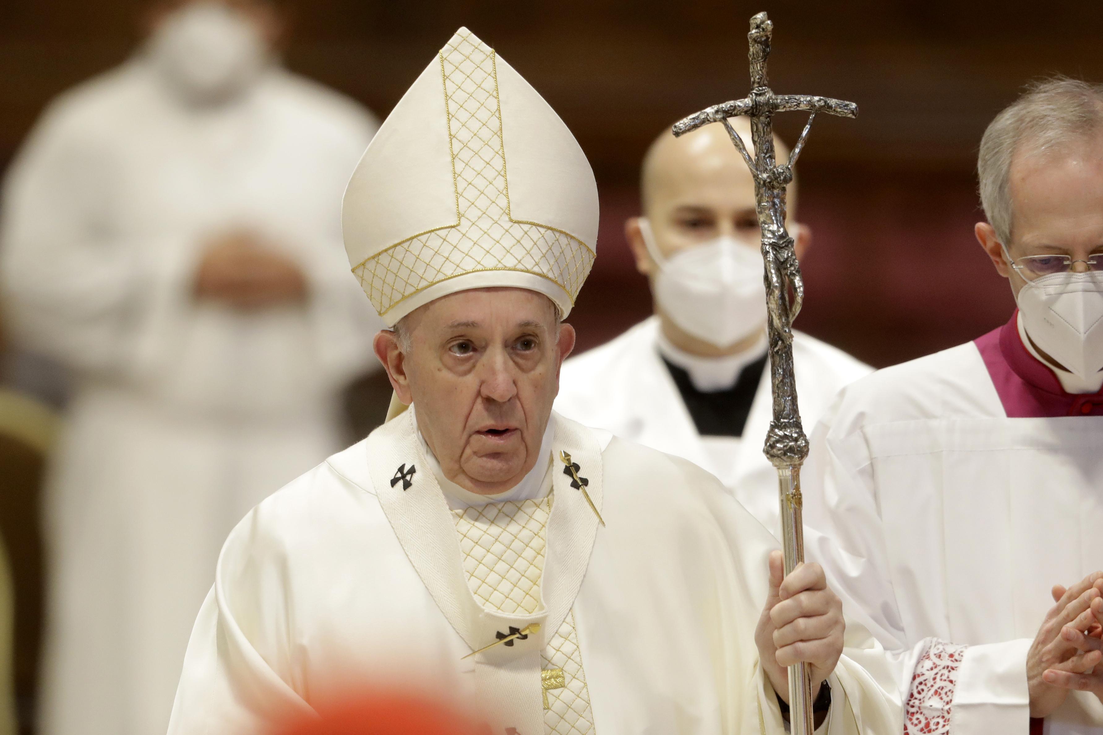 پاپ فرانسیس ، در بیس