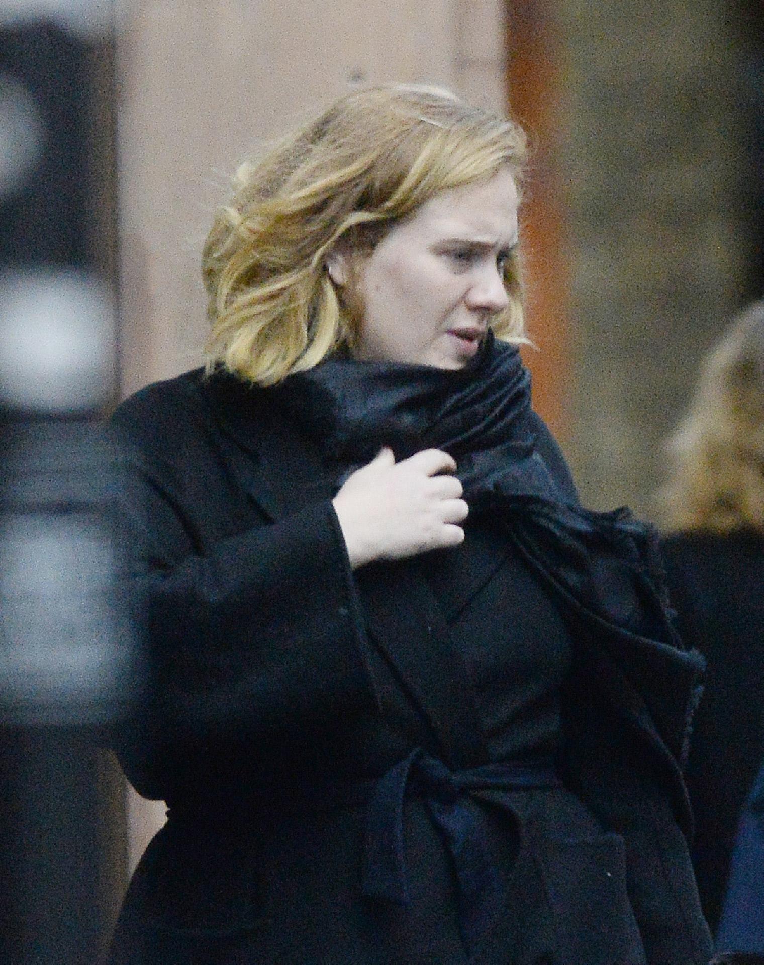 La cantante Adele, en Chelsea.