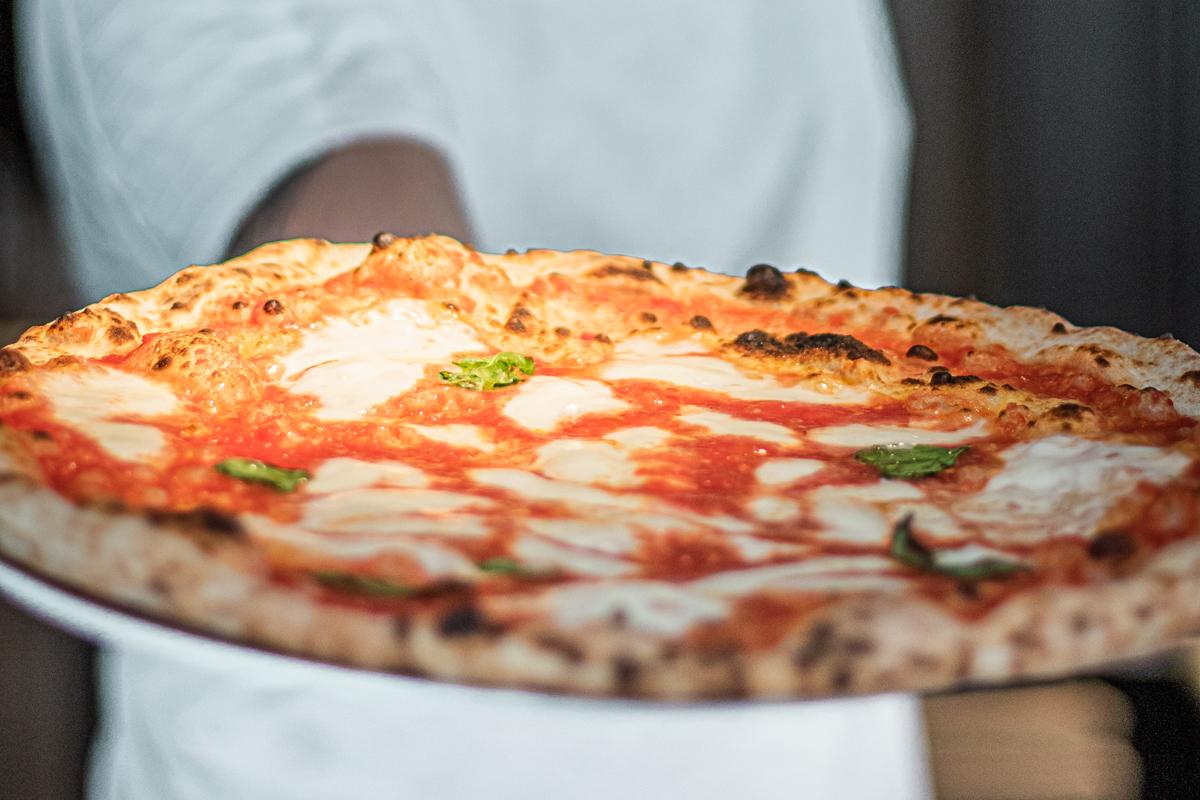 Pizza napolitana de NAP.