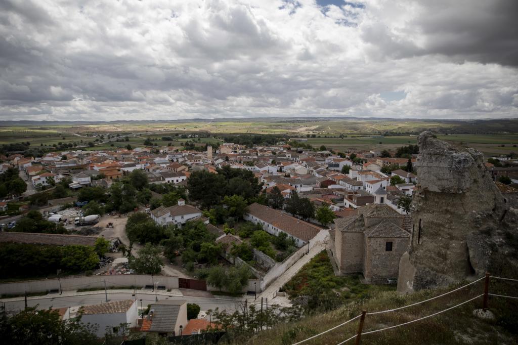 Vista general del pueblo.