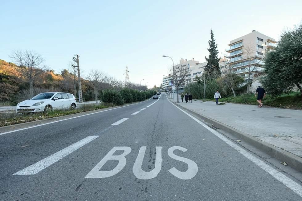 Con la nueva norma, una calle como ésta, con carril bus, estará limitada a 30