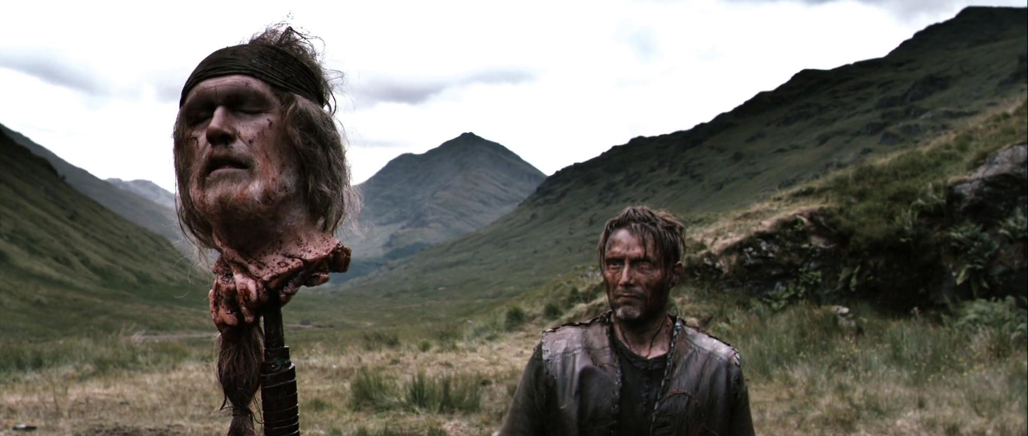 Mads Mikkelsen en una escena de 'Valhalla Rising'.