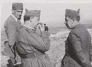 Francisco Franco y el general Dávila.