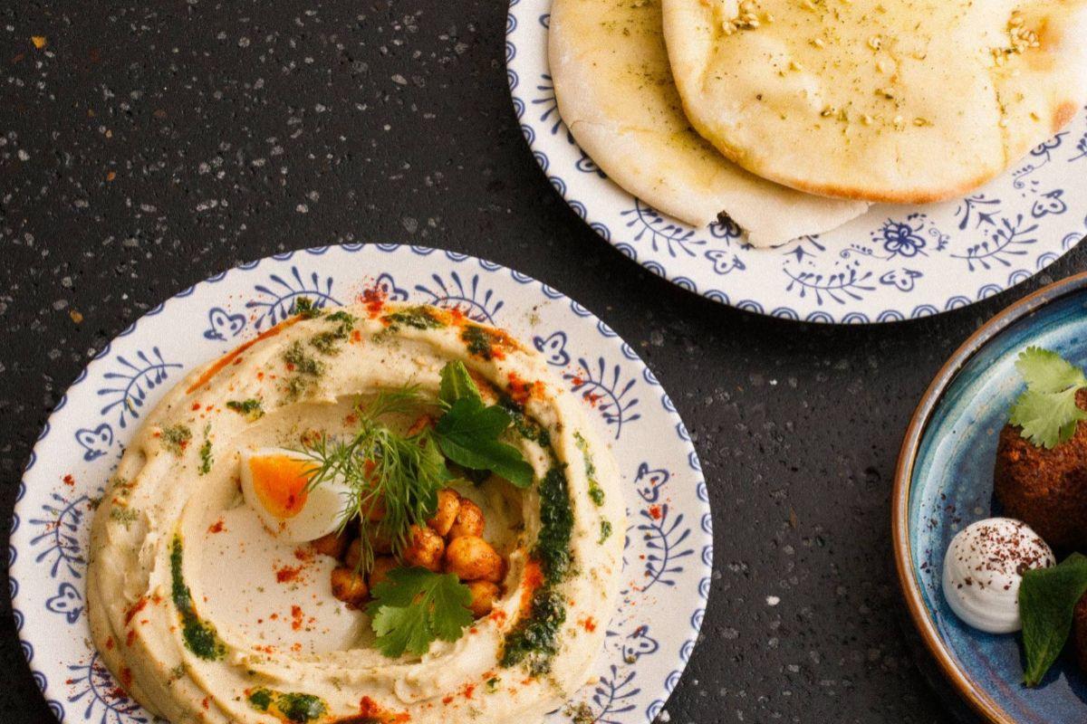 Hummus clásico, en Fayer.