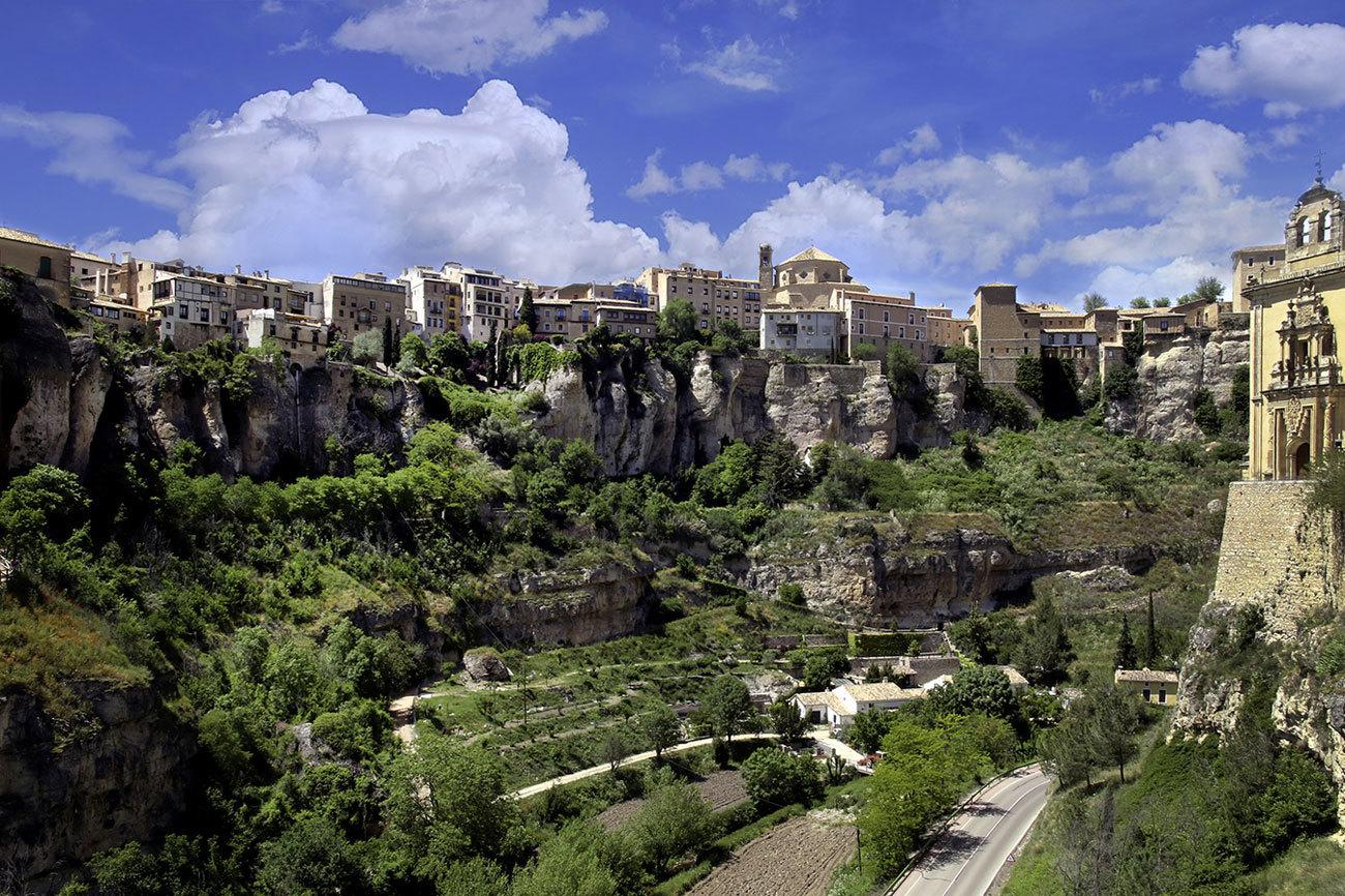 Cuenca, ciudad Patrimonio de la Humanidad.