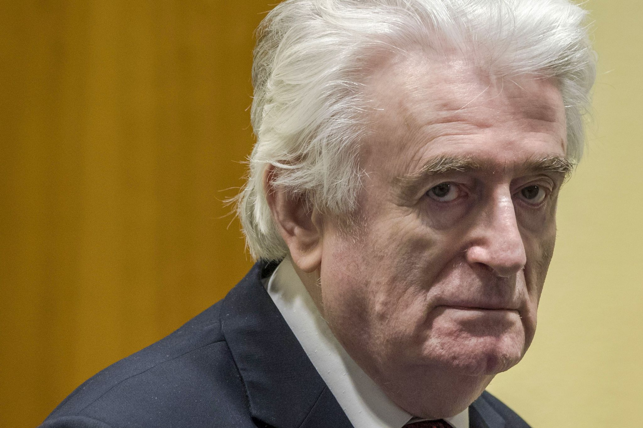 El ex líder serbobosnio Radovan Karadzic.